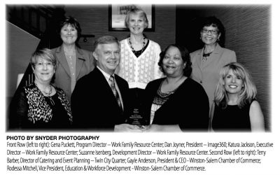 WFRC Receives Winston-Salem Chamber of Commerce Salute to Business Award