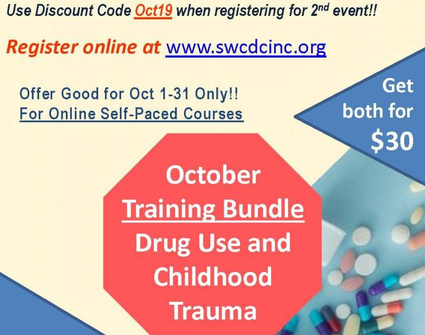 Online – October Training Bundle – Drug Use and Childhood Trauma