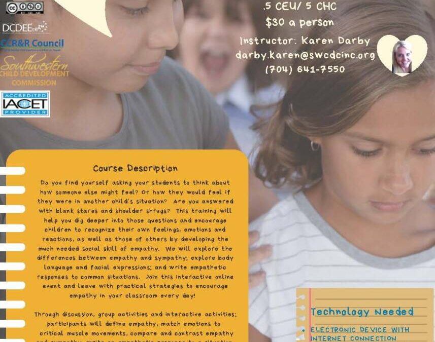 SWCDC – Someone Else's Eyes: Encouraging Empathy in Afterschool- On Demand Learning Event